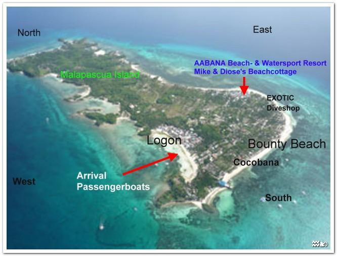 Best Island Vacations In Cebu: Malapascua Island, Daanbantayan ...